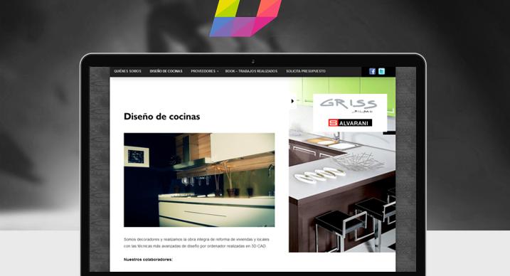 Diseño pagina web Bilbao