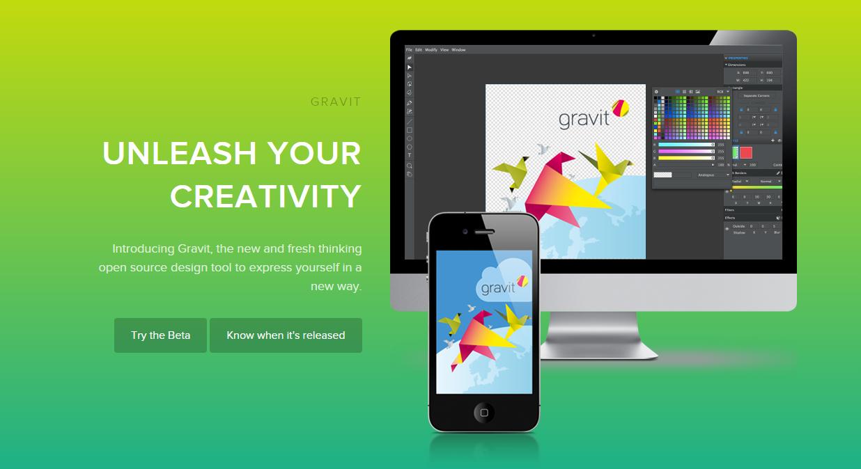 Gravit, una nueva alternativa de código abierto a Photoshop
