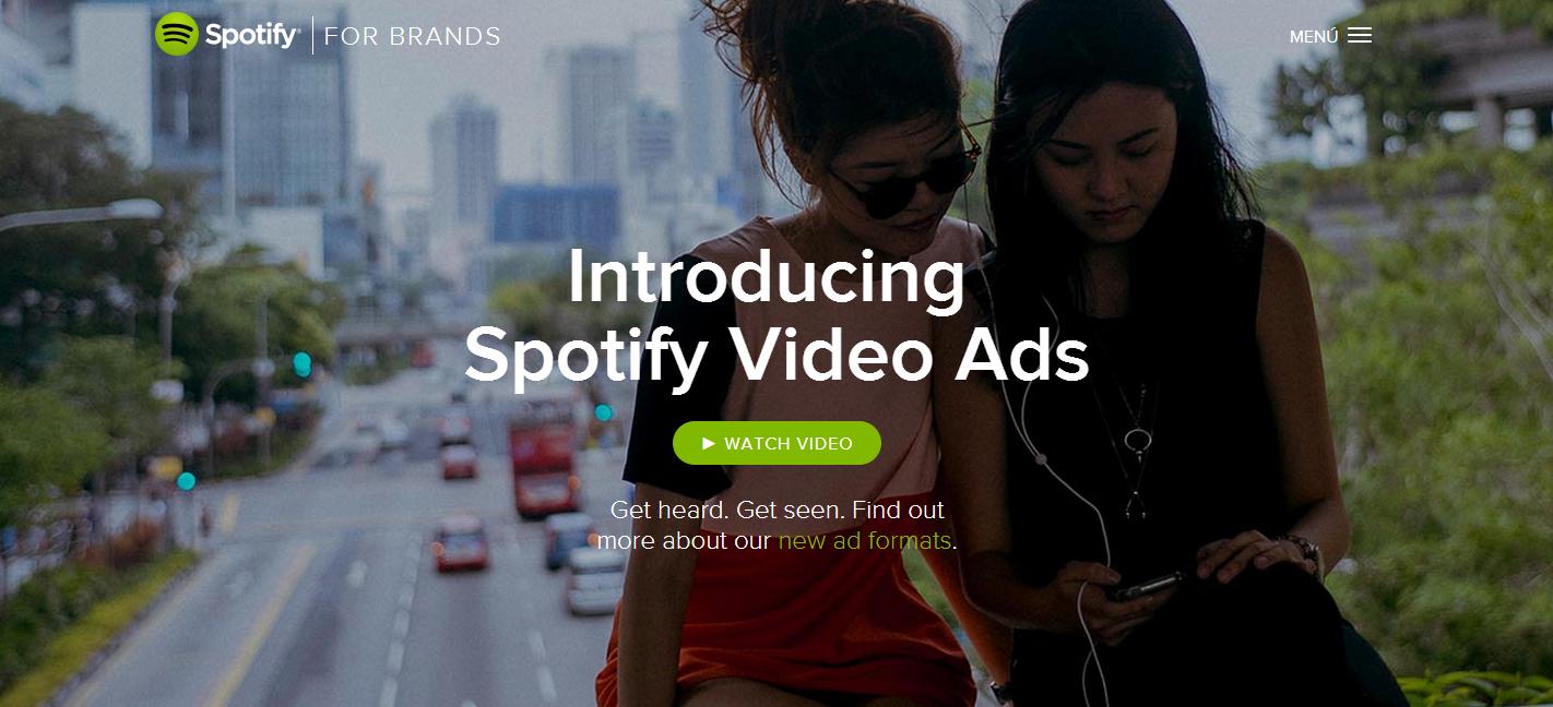 Spotify introducirá vídeos publicitarios a finales de año