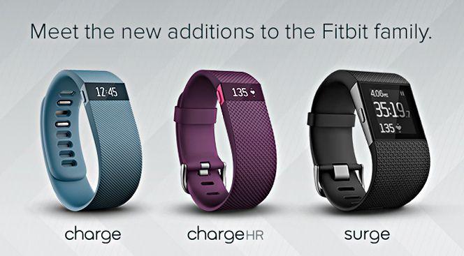 Fitbit anuncia su smartwatch Surge y sus pulseras inteligentes Charge