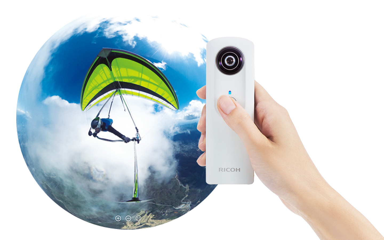 Ricoh Theta m15, la cámara 360º más pequeña