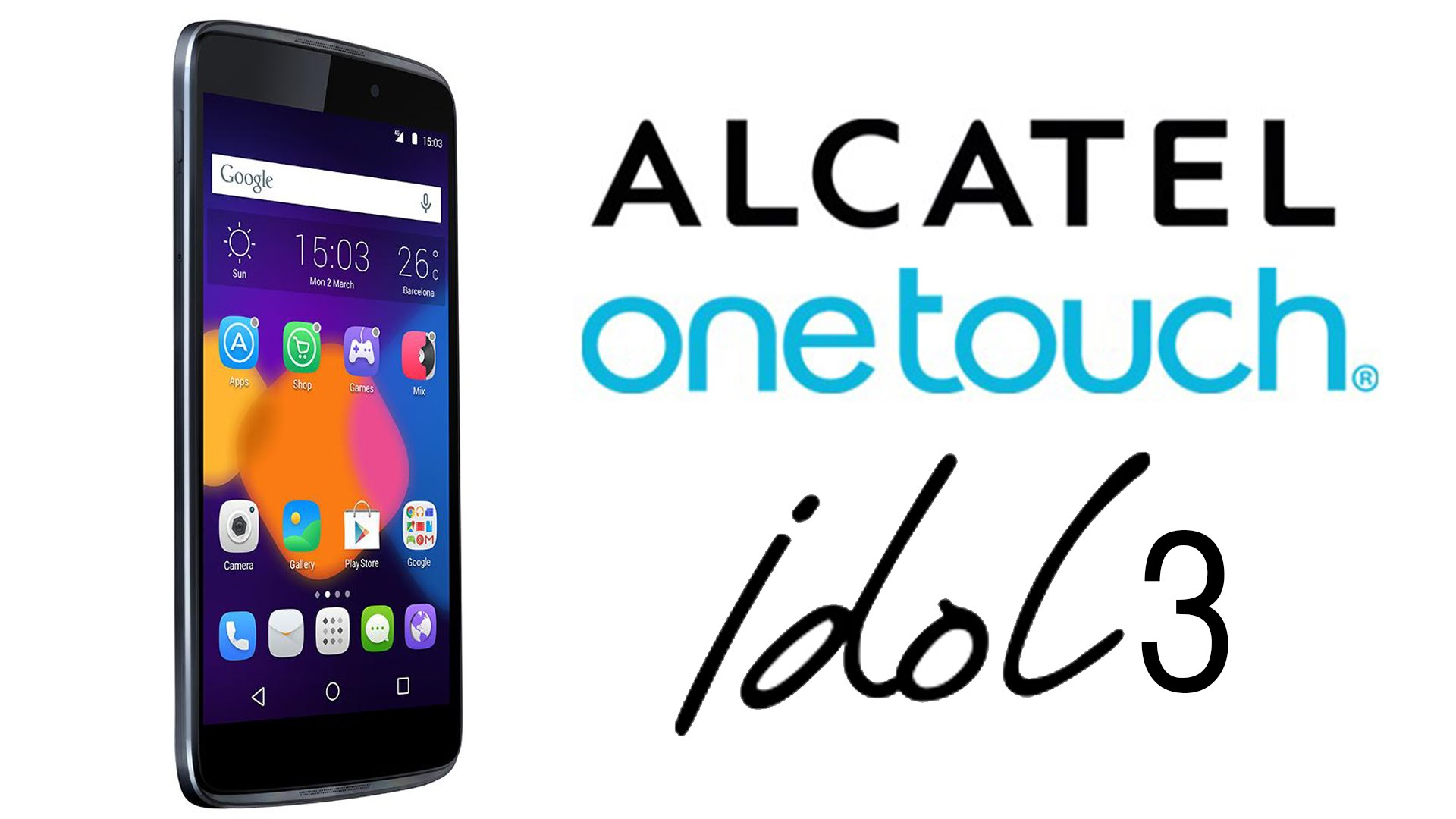 Alcatel Idol 3, el teléfono reversible