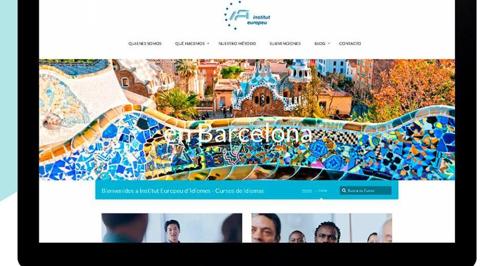 Sitios web de diseño en Barcelona