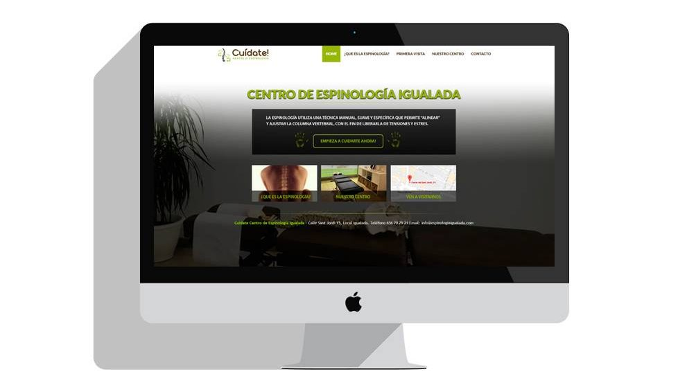 Diseño paginas web igualada