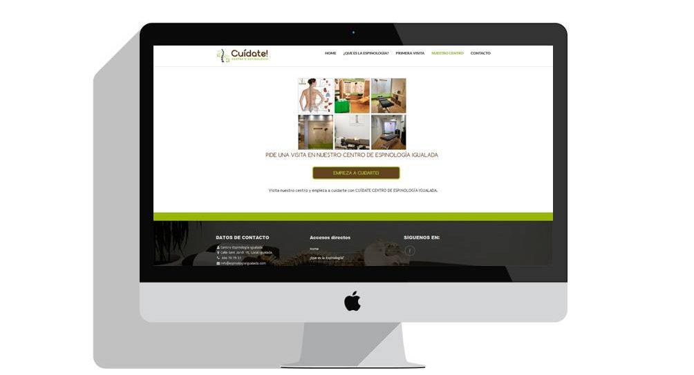 Diseño sitio web igualada