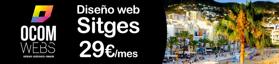Oferta de diseño web en sitges