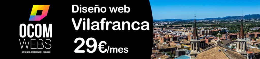 Diseño web en Vilafranca