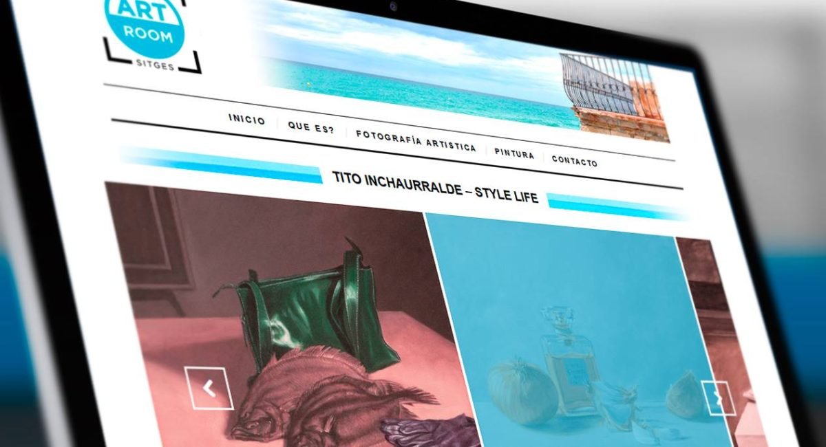 diseño sitges web